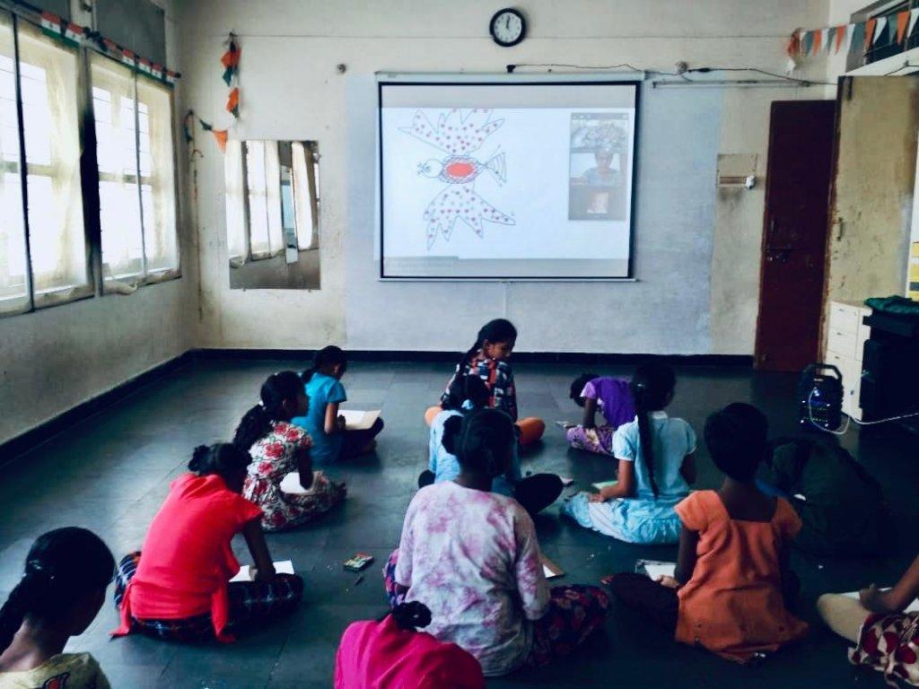 Gift digital access to 4120 former street children