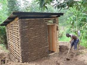 Jetu's new kitchen under construction