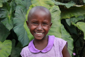 a happy Nyaka student