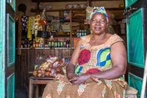 Jovia in her shop