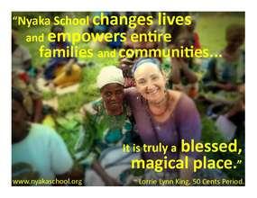 Lorrie's take on Nyaka