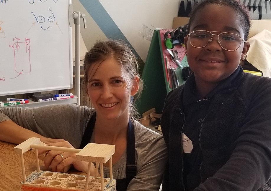 Bringing Craft to Children in Need in San Diego