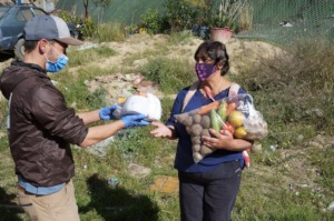 Food donation in USME locality the 23/10/2020