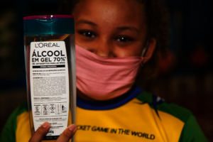 Children Distributing COVID-19 Relief Supplies