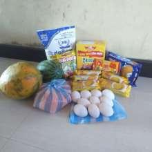 Food parcel contents