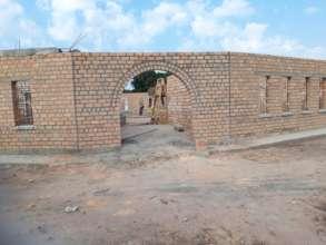 Katoka primary school under construction