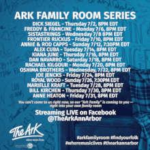Ark Family Room Series- July Schedule