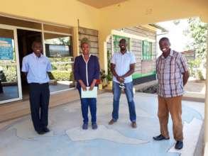 Architect Josephine Mwinyi Visits the Project Site
