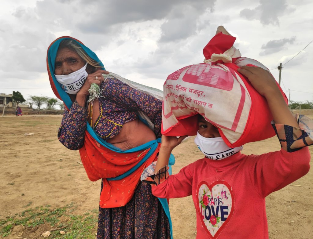 Ration Relief for Daily Wage Labour During COVID19