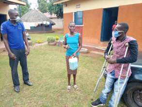 Freeman promotes Clean Wash soap in villages