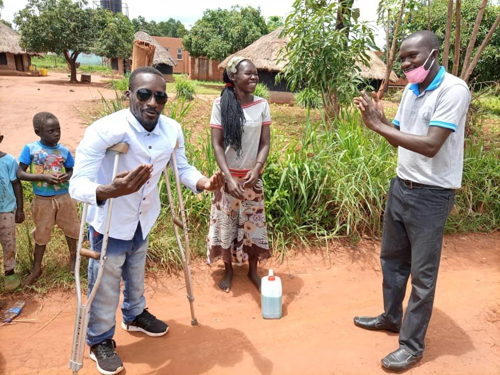 Help Disabled Ugandans Make Clean Wash Soap