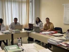 Teachers' Lounge at Nehemia School