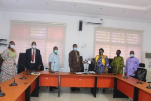 Masks for patients at Lagos State Hospital