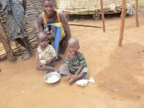 Mother with her twins in need of our ONENEPA
