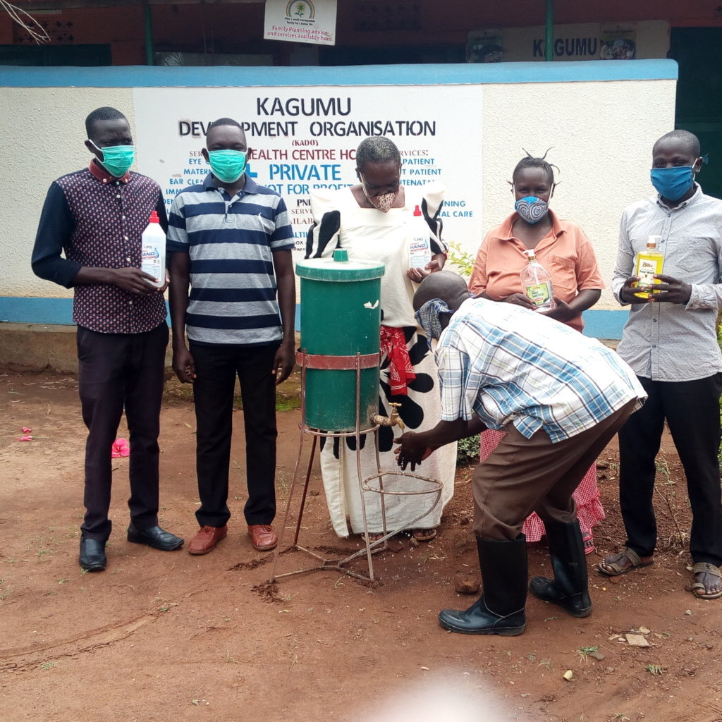 Rescue Rural Communities from COVID-19 in Uganda
