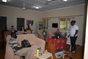 Transition workshop in Bolgatanga
