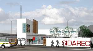 Modern SIDAREC Resource Centre in Mukuru slums