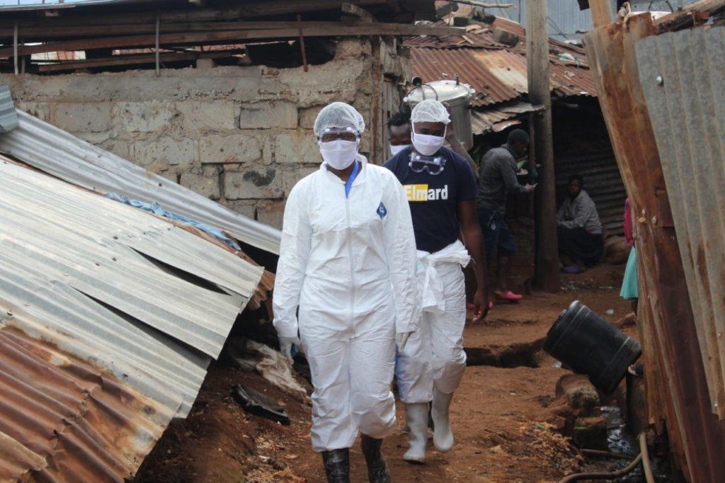 Funding Frontline COVID-19 Response in Kibera