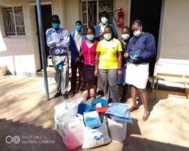 A Rural Clinic Receiving Supplies