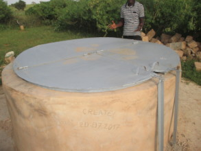 The rehabilitated well in Sanhie.