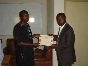 Welding Beneficiary Graduation