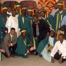 Leadership Initiatives students at graduation