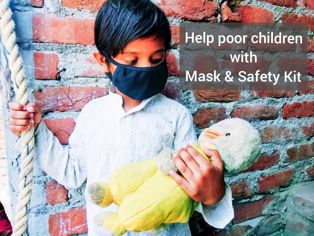 Food & Mask for Corona Fight of Poor Children