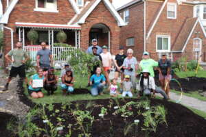 Rain Gardens to the Rescue