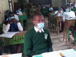 Grade 12 candidates listening keenly