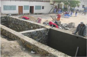Constructing Rainwater Harvesting System
