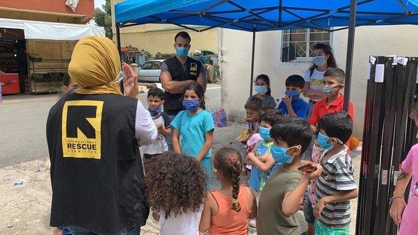 Emergency Response in Beirut, Lebanon