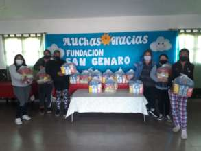 We delivered nourishing food to rural families