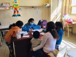 Our pediatrician caring for rural children