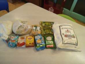 Grocery items for children with Down syndrome