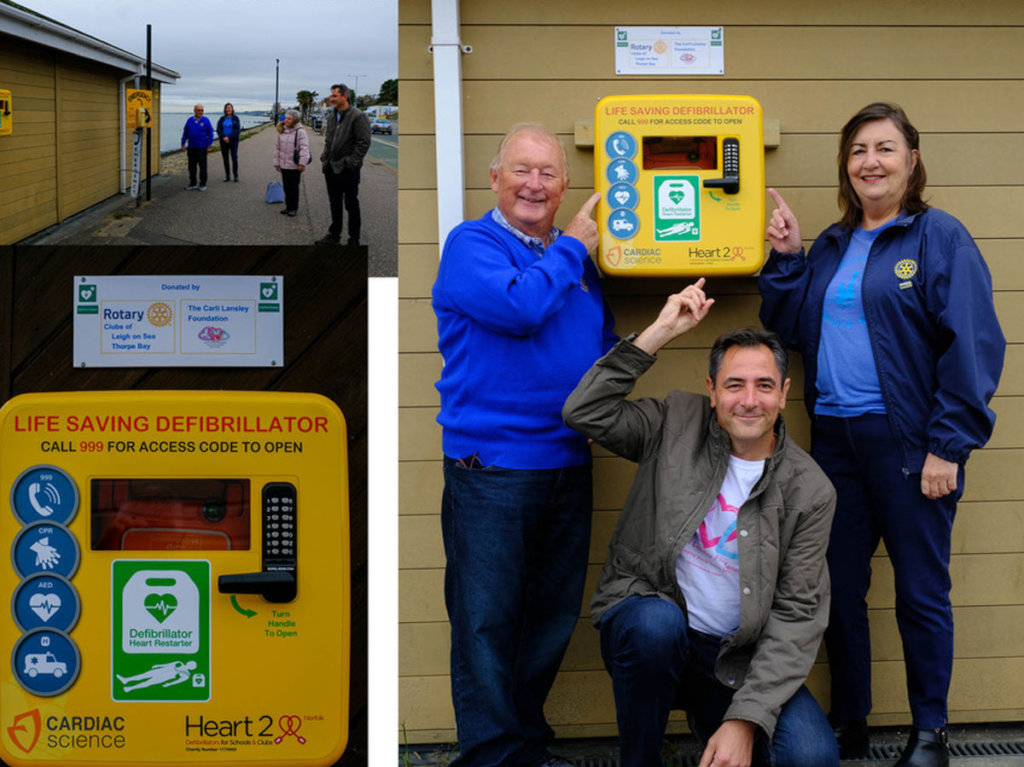 Rotary Defibrillators - Saving Lives in Southend