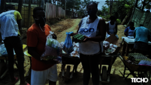 COVID.Emergency food aid for informal settlements
