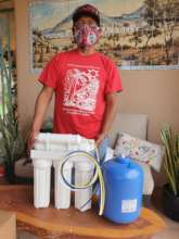 Ernest shares how Reverse Osmosis works