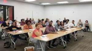 Workshop at Fund 17's Office