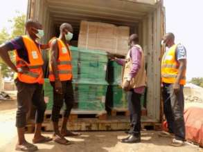 Covid safe delivery of ShelterBoxes