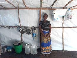 Help for Modestar after Cyclone Idai, Malawi 2019