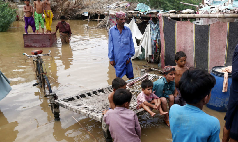 Emergency relief for 100 rain affected children