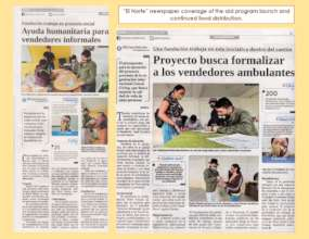 El Norte news articles about the project