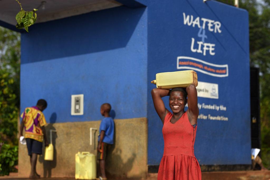 Solar-Powered Clean Water in Uganda