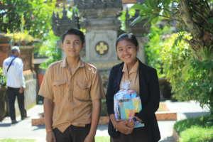 Sponsored students in Gianyar Regency