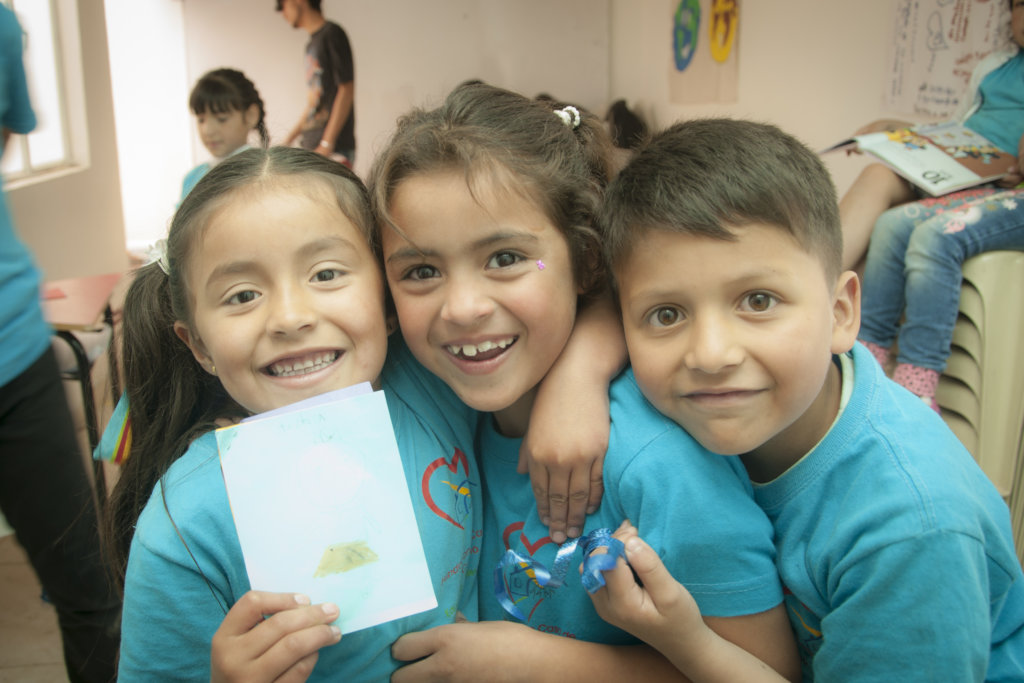 Education for 130 vulnerable children in Colombia