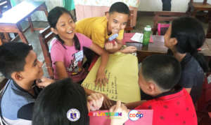 Children exploring their rights while having fun