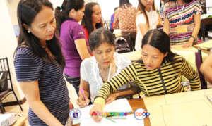 Training for teachers and children