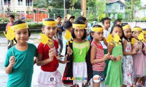 School-wide launching of the savings program