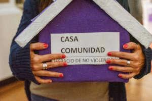 Casa Comunidad is a space of non violence.