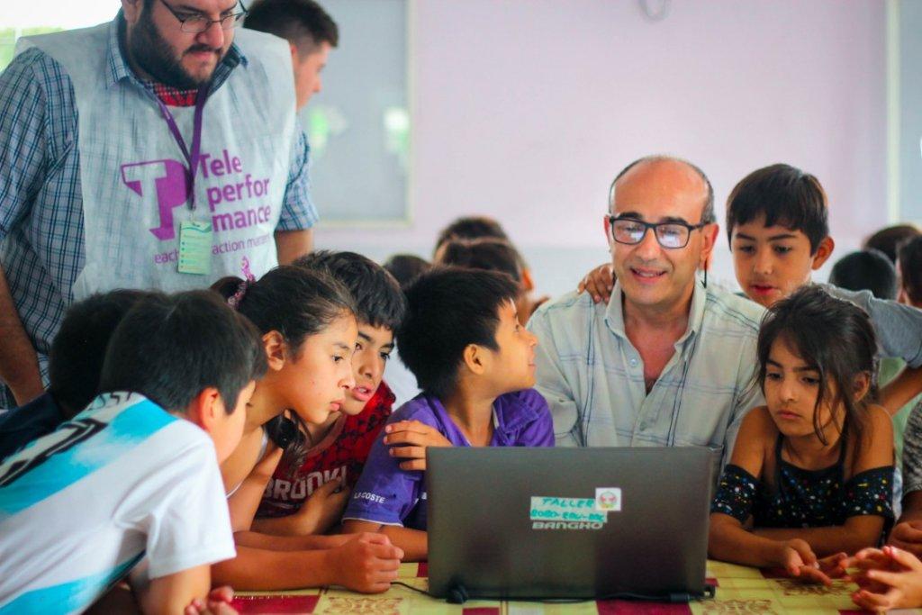 Connect poor preschoolers to books in Tucuman
